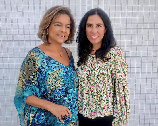 a9fe4f13d As empresárias Cecília Orsalino e Maria Clara Prudente. (Crédito   Divulgação)